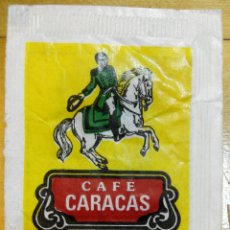 Sobres de azúcar de colección: SOBRE DE AZÚCAR DE CAFÉ CARACAS, 7 GR.. Lote 74936970