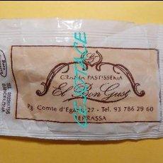 Sobres de azúcar de colección: SOBRE DE AZÚCAR VACÍO, EL DE LA IMAGEN. EL BON GUST. TERRASSA.. Lote 56303956