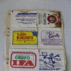 Sobres de azúcar de colección: LOTE 14 SOBRES DE AZUCAR - RESTAURANTES. Lote 58272297