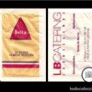 Sobres de azúcar de colección: E-036 SOBRE DELTA CAFÉS LB CATERING. Lote 69268905