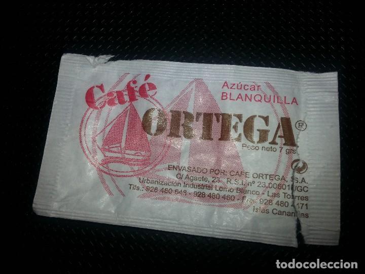 Sobres de azúcar de colección: Sobre de Azúcar de Café Ortega, con Léxico Canario, Ref: 0206 - Foto 2 - 70332077