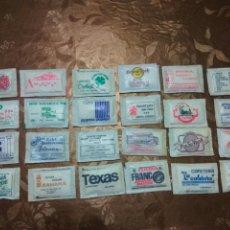 Sobres de azúcar de colección: 24 SOBRES AZÚCAR LLENOS. BARES Y RESTAURANTES DE MADRID.AÑOS 80. Lote 83871776