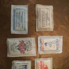 Sobres de azúcar de colección: 6 SOBRES AZÚCAR LLENOS. CATALUÑA. AÑOS 80. Lote 84523482
