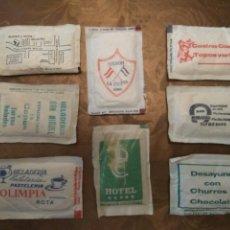 Sobres de azúcar de colección: 8 SOBRES AZÚCAR LLENOS. ANDALUCÍA. AÑOS 80. Lote 84524116