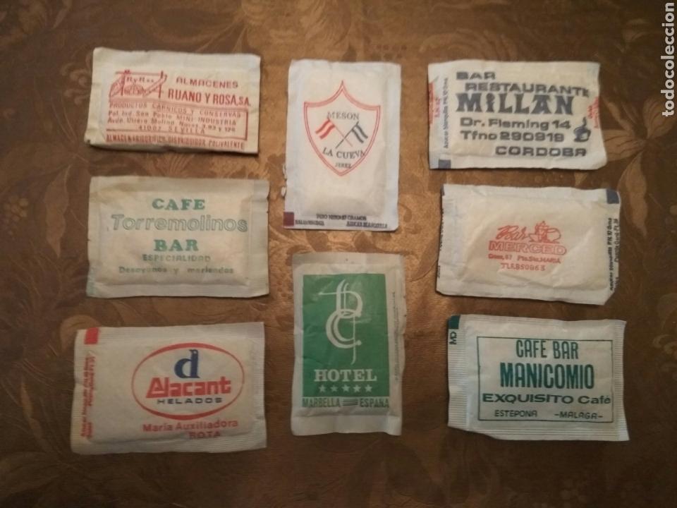 Sobres de azúcar de colección: 8 SOBRES AZÚCAR LLENOS. ANDALUCÍA. AÑOS 80 - Foto 2 - 84524116