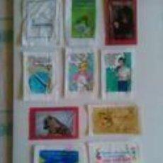 Sobres de azúcar de colección: LOTE DE 10 SOBRES DE AZUCAR,PORTUGAL. Lote 85263444