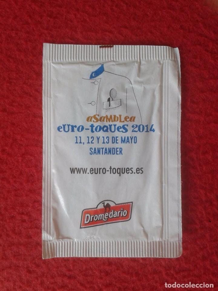 Sobres de azúcar de colección: SOBRE DE AZÚCAR PACKET OF SUGAR VACÍO SUSI DÍAZ COCINERA CHEF. DROMEDARIO VER FOTO/S Y DESCRIPCIÓN - Foto 2 - 88882600