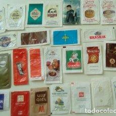 Sobres de azúcar de colección: 40 SOBRES AZÚCAR/AZUCARILLOS ( VACÍOS ). Lote 92269275