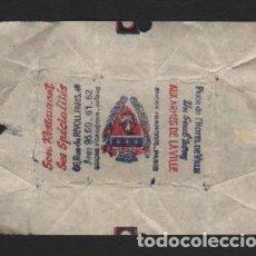 Sobres de azúcar de colección: SOBRE PAPEL AZUCARILLO FRANCES AÑOS 70. Lote 95488399