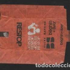 Sobres de azúcar de colección: SOBRE PAPEL AZUCARILLO FRANCES AÑOS 70. Lote 95496483