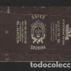 Sobres de azúcar de colección: SOBRE PAPEL AZUCARILLO FRANCES AÑOS 70. Lote 95496487