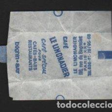 Sobres de azúcar de colección: SOBRE PAPEL AZUCARILLO FRANCES AÑOS 70. Lote 95496543