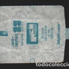 Sobres de azúcar de colección: SOBRE PAPEL AZUCARILLO FRANCES AÑOS 70. Lote 95496551