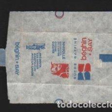 Sobres de azúcar de colección: SOBRE PAPEL AZUCARILLO FRANCES AÑOS 70. Lote 95496579