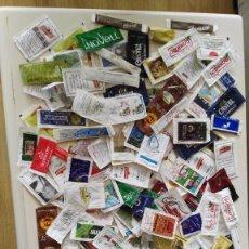 Sobres de azúcar de colección: LOTE 190 DOBRES DE AZUCAR VACIOS . Lote 97997791