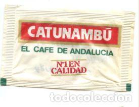 SOBRE DE AZUCAR SUGAR PACKET - CAFES CATUNAMBU - 10 GR. (Coleccionismos - Sobres de Azúcar)