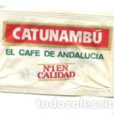 Sobres de azúcar de colección: SOBRE DE AZUCAR SUGAR PACKET - CAFES CATUNAMBU - 10 GR.. Lote 105834639
