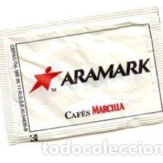 Sobres de azúcar de colección: SOBRE DE AZUCAR SUGAR PACKET - CAFES MARCILLA ARAMARK - 8 GR.. Lote 105836463