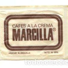 Sobres de azúcar de colección: SOBRE DE AZUCAR SUGAR PACKET - CAFES MARCILLA - 10 GR.. Lote 105836507