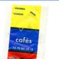 Sobres de azúcar de colección: SOBRE DE AZUCAR SUGAR PACKET - CAFES TOMOCA - 8 GR.. Lote 105836559