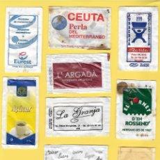 Sobres de azúcar de colección: LOTE 2: 10 SOBRES AZÚCAR. . Lote 108089043