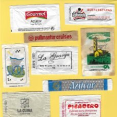 Sobres de azúcar de colección: LOTE 3: 10 SOBRES AZÚCAR. . Lote 108090687