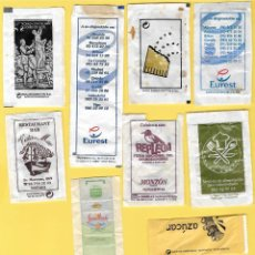 Sobres de azúcar de colección: LOTE 8: 10 SOBRES AZÚCAR. . Lote 108097791