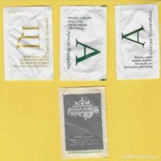 Sobres de azúcar de colección: LOTE 11: 4 SOBRES AZÚCAR PARADORES. Lote 108261627