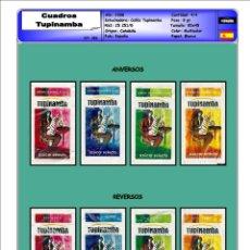 Sobres de azúcar de colección: 0386 SERIE SOBRES DE AZÚCAR: CUADROS TUPINAMBA. EST. : CAFÉS TUPINAMBA 4/4. Lote 109166219