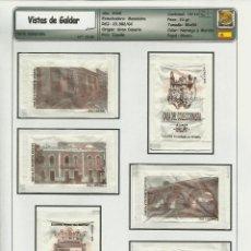 Sobres de azúcar de colección: 0195 SERIE SOBRES DE AZÚCAR: VISTAS DE GALDAR. EST. : MANINIDRA 14/14. Lote 109167887