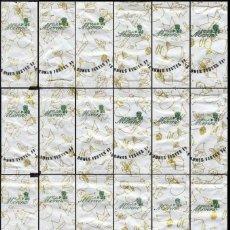 Sobres de azúcar de colección: 1153 SERIE SOBRES DE AZÚCAR: NAVIDAD 2008. CAFÉS MORENO. (PUZZLE). EST. : LA CIAL DEL SUCRE 24/24. Lote 109168267