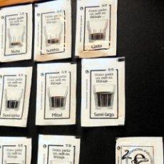 Sobres de azúcar de colección: SOBRES DE AZÚCAR - SERIE COMO PEDIR UN CAFÉ EN MÁLAGA 8/8 AÑO 2009 - (VER FOTOS ADICIONALES). Lote 147128510