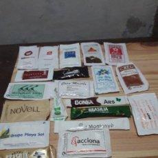 Sobres de azúcar de colección: LOTE 20 SOBRES DE AZUCAR . Lote 117068819