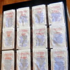 Sobres de azúcar de colección: SOBRES DE AZÚCAR - SERIE 16/16 DROMEDARIO - LOS JJOO LONDRES 2012 (VACIOS). Lote 254763530