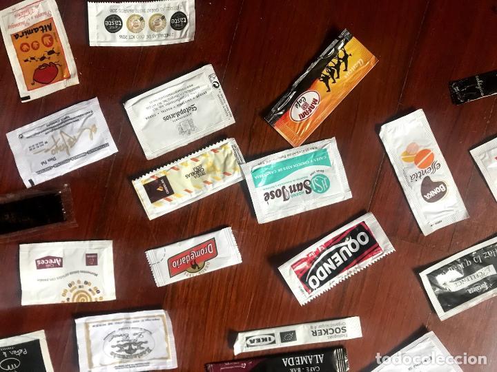 Sobres de azúcar de colección: Lote de 57 sobres de azucar diferentes - Foto 2 - 124257699