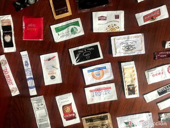 Sobres de azúcar de colección: Lote de 57 sobres de azucar diferentes - Foto 3 - 124257699