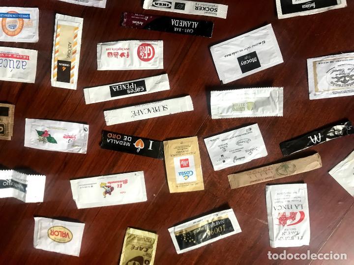 Sobres de azúcar de colección: Lote de 57 sobres de azucar diferentes - Foto 4 - 124257699