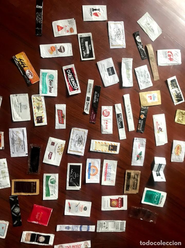 Sobres de azúcar de colección: Lote de 57 sobres de azucar diferentes - Foto 5 - 124257699