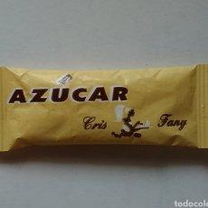 Sobres de azúcar de colección: SOBRE AZÚCAR CHRIS FANY. Lote 128630391