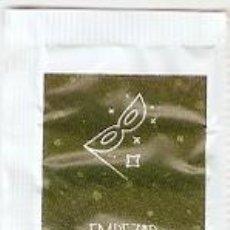 Sobres de azúcar de colección: SOBRE OQUENDO. NAVIDAD. MUÑECO NIEVE / PROPOSITO-4. EMPEZAR A COMER BIEN - VERDE. REF. 25-1316. Lote 133750602