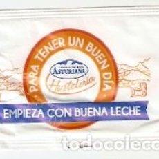 Sobres de azúcar de colección: SOBRE AZUCAR. CENTRAL LECHERA ASTURIANA. EMPIEZA CON BUENA LECHE. REF. 25-1326. Lote 133753106