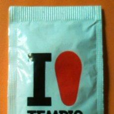 Sobres de azúcar de colección: SOBRE DE AZUCAR CAFES TEMPLO (LLENO). Lote 138668662