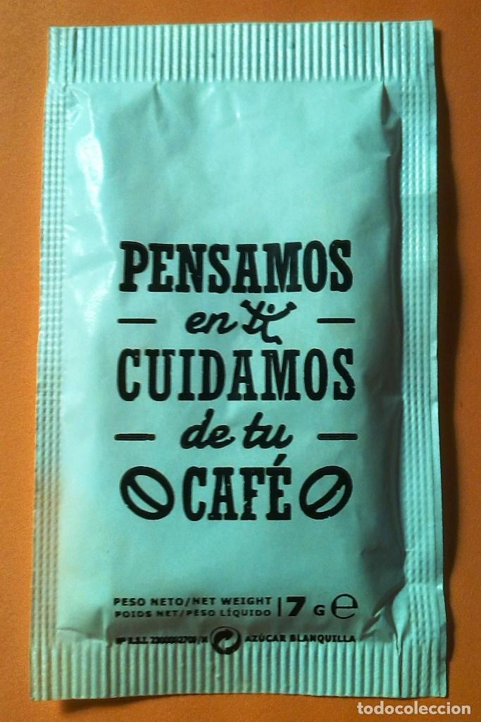 Sobres de azúcar de colección: SOBRE DE AZUCAR CAFES TEMPLO (LLENO) - Foto 2 - 138668662