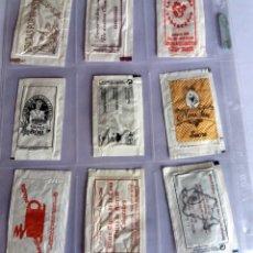 Sobres de azúcar de colección: LOTE 9 SOBRES DE AZÚCAR - ANTIGUOS - VARIADOS - ESPECIAL COLECCIONISTAS - VER FOTOS ADICIONALES. Lote 140452938