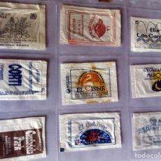 Sobres de azúcar de colección: LOTE 9 SOBRES DE AZÚCAR - ANTIGUOS - VARIADOS - ESPECIAL COLECCIONISTAS - VER FOTOS ADICIONALES. Lote 140452954
