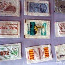 Sobres de azúcar de colección: LOTE 9 SOBRES DE AZÚCAR - ANTIGUOS - VARIADOS - ESPECIAL COLECCIONISTAS - VER FOTOS ADICIONALES. Lote 140453018