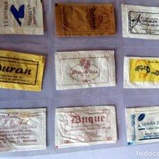 Sobres de azúcar de colección: LOTE 9 SOBRES DE AZÚCAR - ANTIGUOS - VARIADOS - ESPECIAL COLECCIONISTAS - VER FOTOS ADICIONALES. Lote 140453022