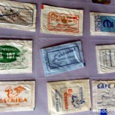 Sobres de azúcar de colección: LOTE 9 SOBRES DE AZÚCAR - ANTIGUOS - VARIADOS - ESPECIAL COLECCIONISTAS - VER FOTOS ADICIONALES. Lote 140453038
