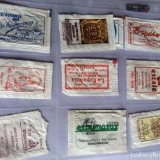 Sobres de azúcar de colección: LOTE 9 SOBRES DE AZÚCAR - ANTIGUOS - VARIADOS - ESPECIAL COLECCIONISTAS - VER FOTOS ADICIONALES. Lote 140453046