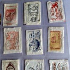 Sobres de azúcar de colección: LOTE 9 SOBRES DE AZÚCAR - ANTIGUOS - VARIADOS - ESPECIAL COLECCIONISTAS - VER FOTOS ADICIONALES. Lote 140453094